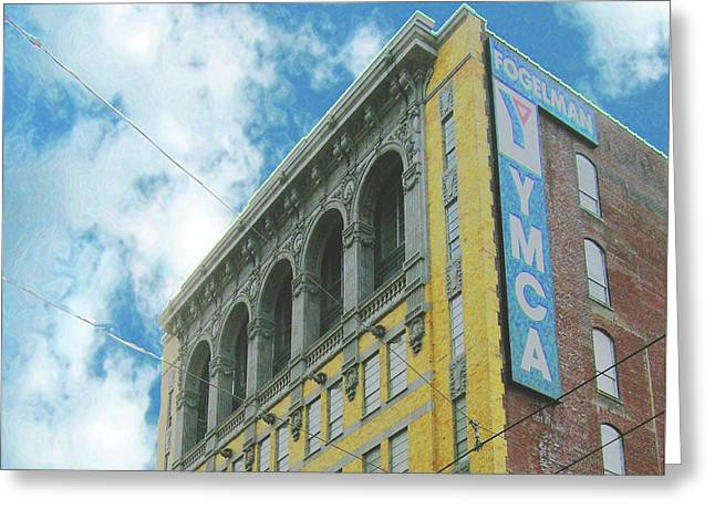 Greeting Card featuring the photograph Ymca by Lizi Beard-Ward