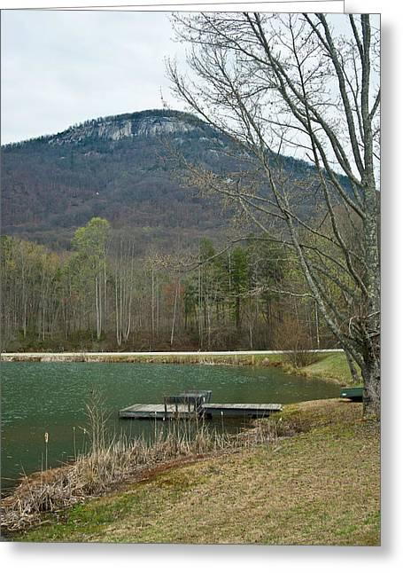 Yonah Mountain 1 Greeting Card by Douglas Barnett