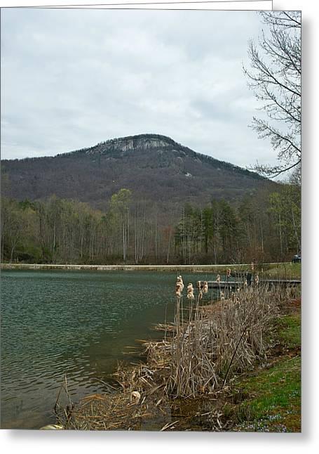 Yonah Mountain 5 Greeting Card by Douglas Barnett