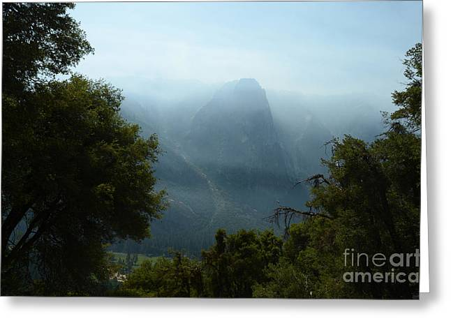 Yosemite Falls Hike Greeting Card