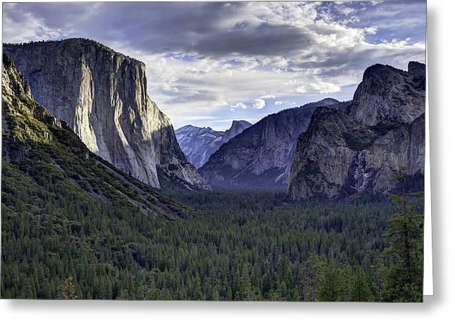 Yosemite Greeting Card by Mike Herdering