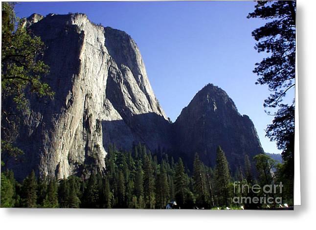Yosemite Park El Capitan  Greeting Card by The Kepharts