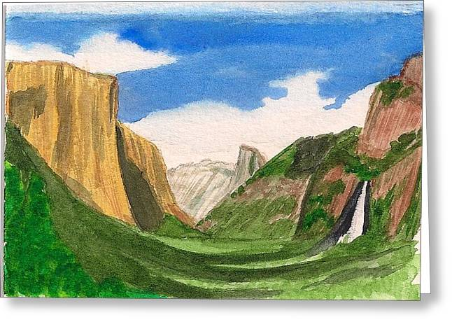 Yosemite Summer Greeting Card by Dianne Lanning