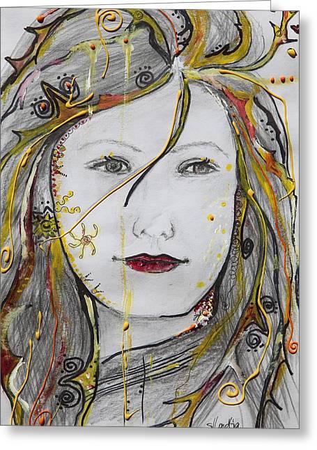 You Are My Sunshine Greeting Card by Sladjana Lazarevic