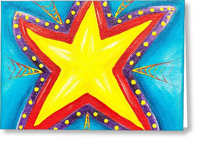Your A Star Greeting Card by Melle Varoy