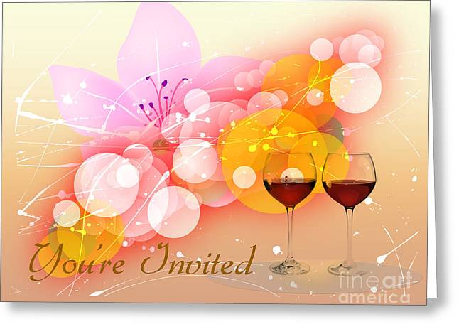 You're Invited Greeting Card by Heinz G Mielke