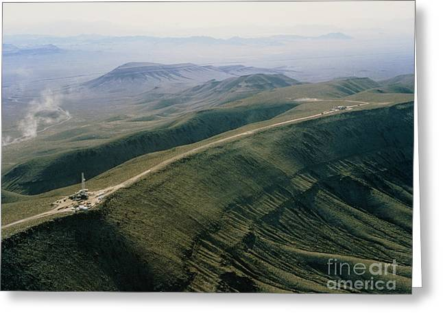 Yucca Mountain Site, Nuclear Waste Greeting Card by U.S. Department of Energy
