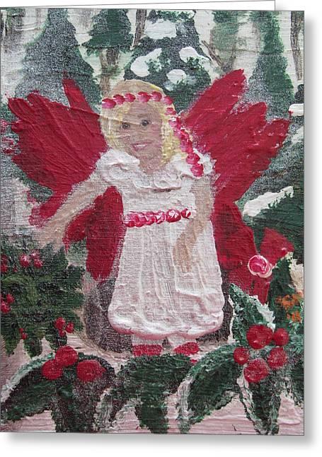 Yule Fairy Greeting Card