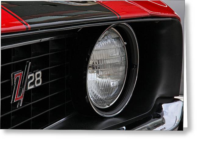Z28 Greeting Card by Chuck Zacharias