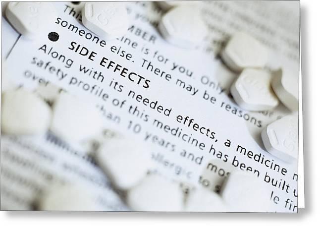 Zantac Pills Greeting Card