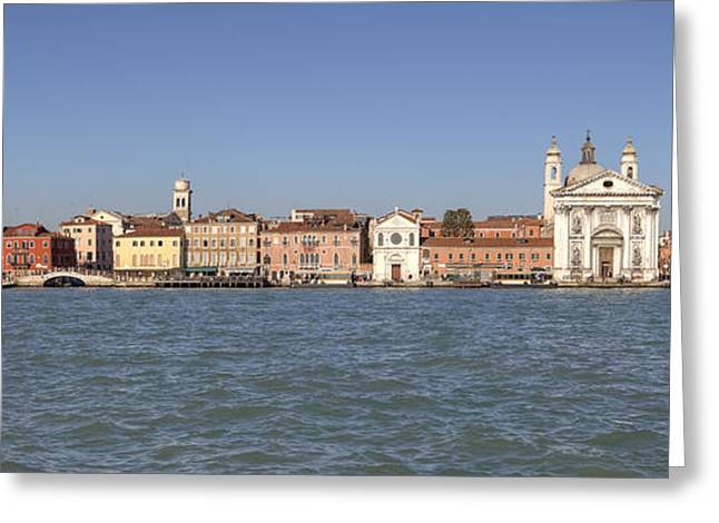 Zattere - Venice Greeting Card by Joana Kruse