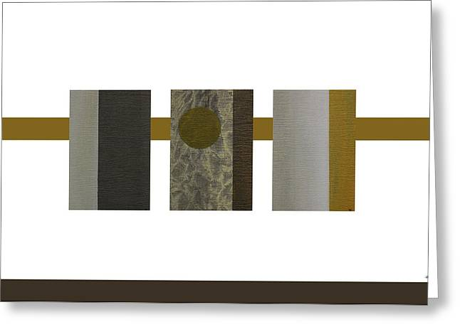 Zen Abstract Composition Greeting Card