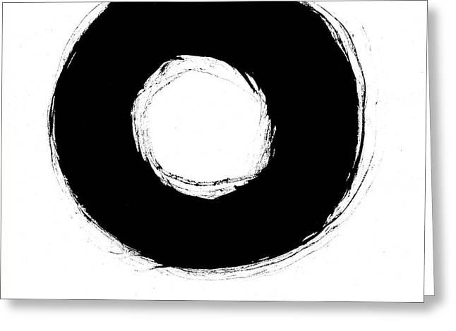 Zen Circle Seven Greeting Card