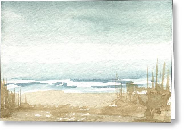 Zen Landscape 1 Greeting Card