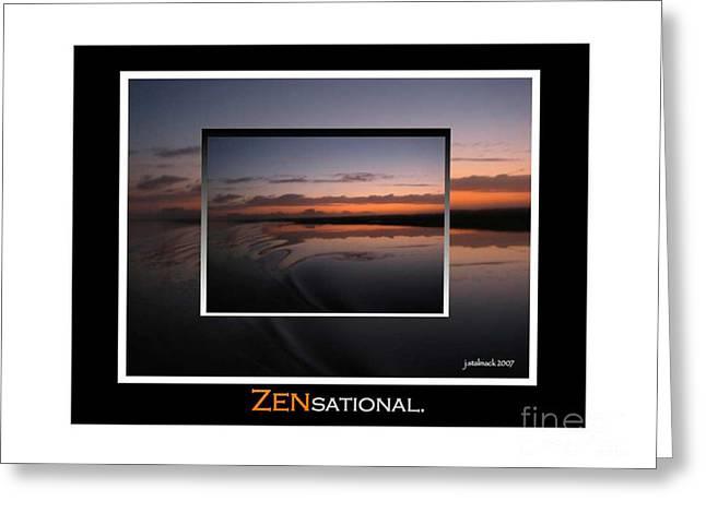 Zensational 1 Greeting Card by Judee Stalmack