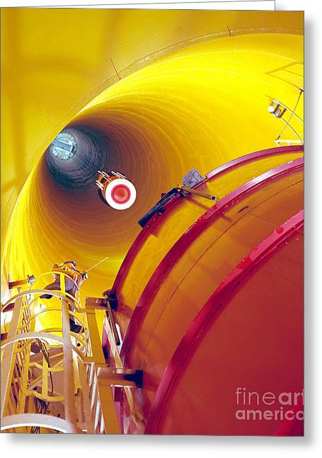Zero Gravity Facility Greeting Card by Nasa