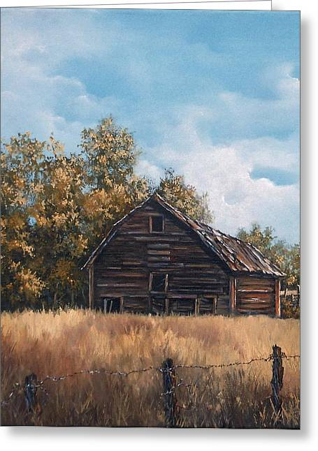 Zoe's Barn Greeting Card