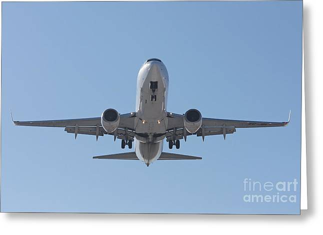 Aireuropa - Boeing 737-85p - Ec-jbl  Greeting Card