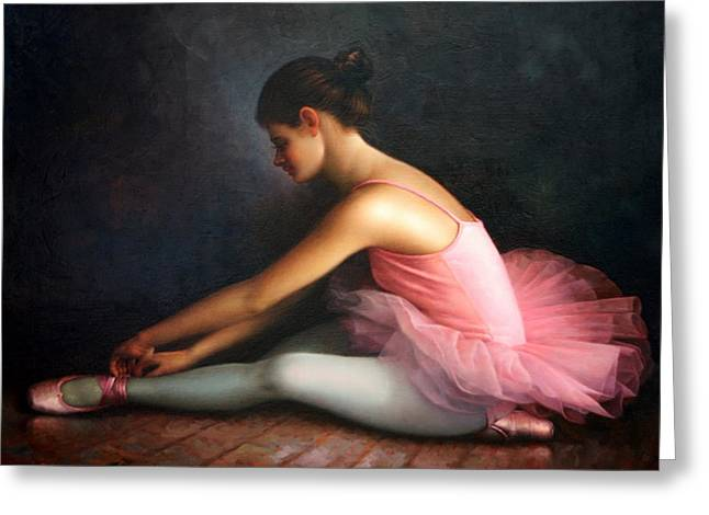 Ballerina Greeting Card