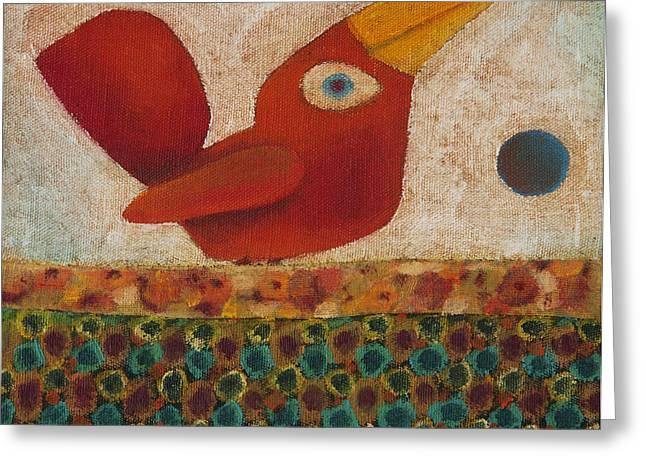 Barba Ruiva - Red Beard Greeting Card by Rogerio Dias