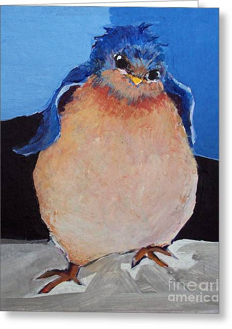 Bird With An Attitude Greeting Card