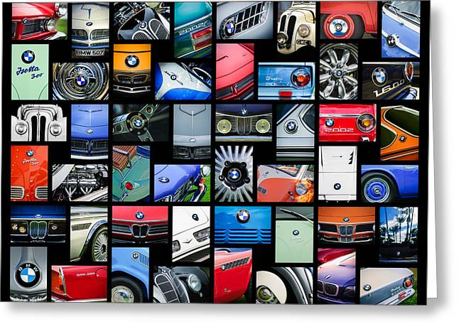 Bmw Art -01 Greeting Card
