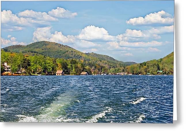Boat Ride Digital Art Greeting Card by Susan Leggett