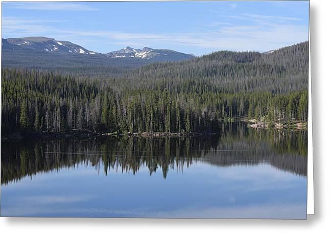 Chambers Lake Hwy 14 Co Greeting Card