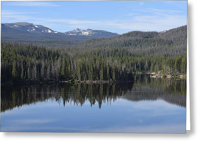 Chambers Lake Hwy 14 Co Greeting Card