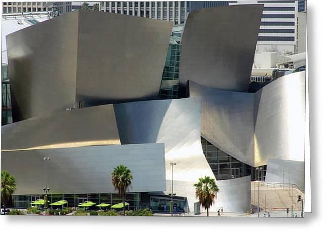 @ Disney Hall, Los Angeles Greeting Card by Jim McCullaugh