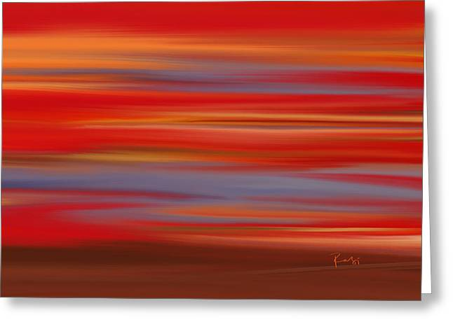 Evening In Ottawa Valley Greeting Card by Rabi Khan