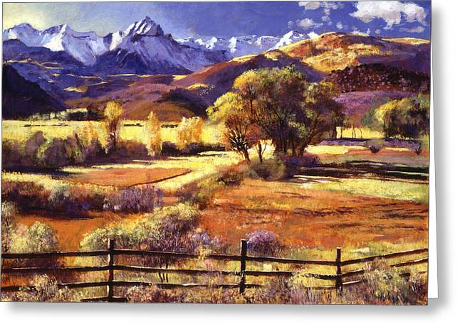 Foothills Ranch Greeting Card