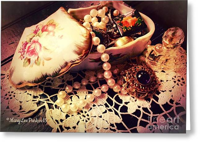 Grandma's Treasures I Greeting Card by MaryLee Parker