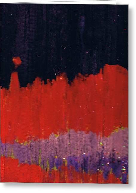 Horizon Unknown Greeting Card by Anne-Elizabeth Whiteway