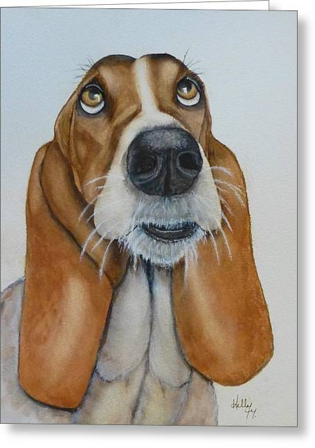 Hound Dog's Pleeease Greeting Card
