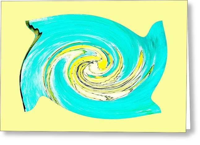 Hurricane Jane Greeting Card by Marsha Heiken
