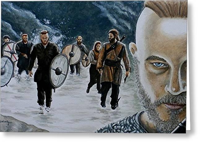 I Am Ragnar Lothbrok Greeting Card