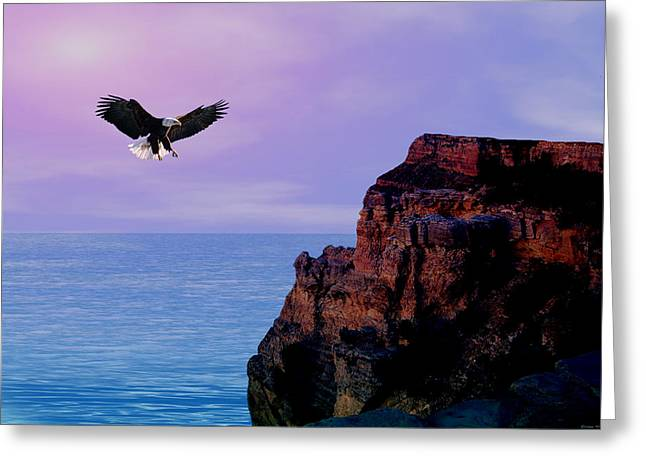 I'm Free To Fly Greeting Card by Evelyn Patrick
