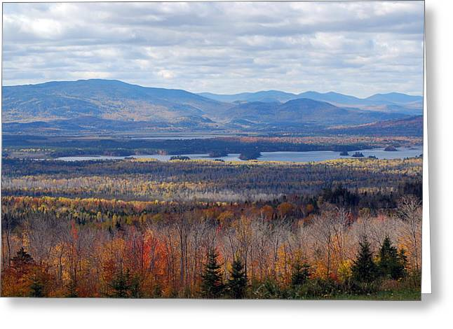 In The Distance Greeting Card by Clay Peters Photography