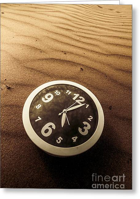 In Waves Of Lost Time Greeting Card by Jorgo Photography - Wall Art Gallery