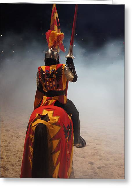 Knight  Greeting Card by Art Spectrum