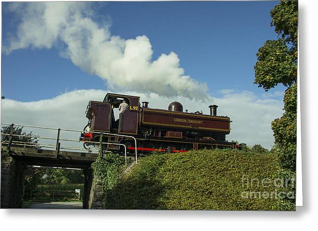 L92 At Buckfastleigh  Greeting Card by Rob Hawkins