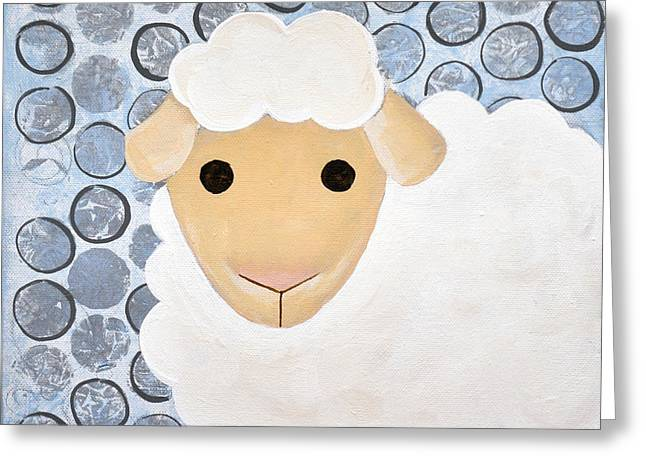 The Blessing Of The Lamb Greeting Card