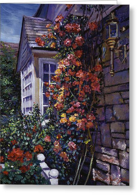 Magnificent Climbing Roses Greeting Card