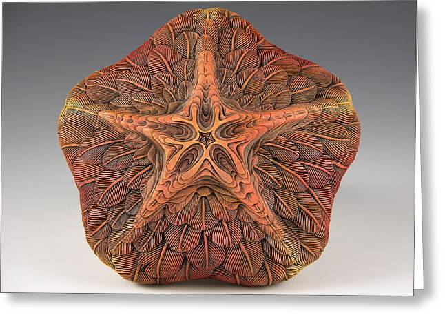 Vesery Sculptures Greeting Cards -  Makana Ka Na Hoku Greeting Card by Jacques Vesery