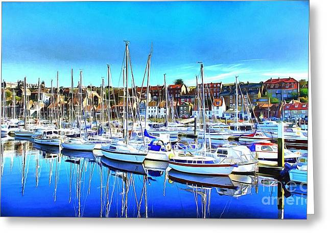 Marina Greeting Card by Mylinda Revell