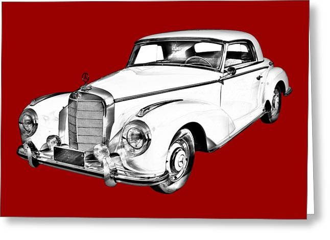 Luxury Vehicle 300: Mercedes Benz 300 Luxury Car Drawing Photograph By Keith