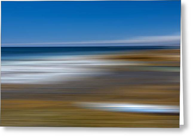 M'ocean 13 Greeting Card by Peter Tellone