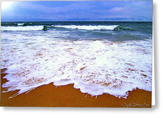 Greeting Card featuring the photograph  Montauk 1 by Cindy Greenstein