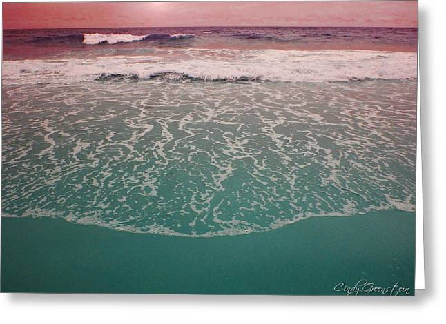 Greeting Card featuring the photograph  Montauk 2 by Cindy Greenstein